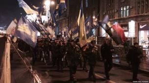 Kiev rally. Photo: David Paul Morgan