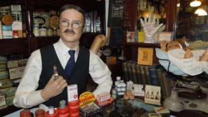 Chemist at Museum of Shops
