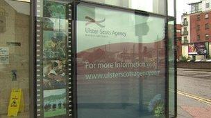 Ulster-Scots Agency sign