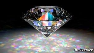Stock photo of a diamond