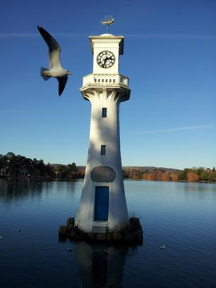 Cardiff's Roath Park Lake