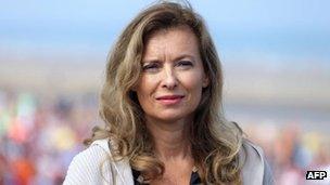Valerie Trierweiler (file photo - 28 August 2013)