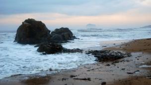 View of Bass Rock