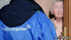 Better Together canvassers