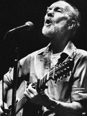 Peter Seeger in 1984