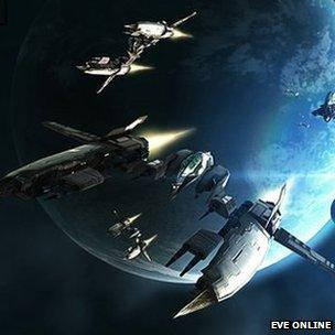 SCreenshot from Eve Online