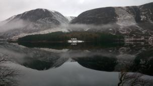 Queen Victoria's hideaway on the north shore of Loch Muich - behind Lochnagar on the Balmoral estate