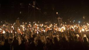 Up Helly Aa in Lerwick
