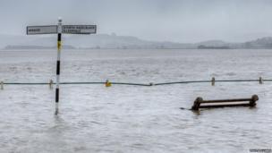 Floods in Cumbria. Photo: Paul Williams