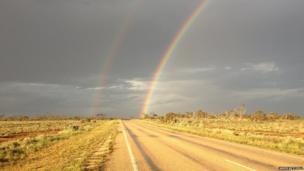 Rainbow in Australia