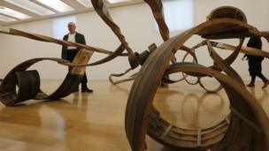 Richard Deacon with Out of Order 2003