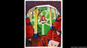 David Hockney, Views of Hotel Well III
