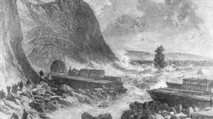 Holcombe near Dawlish in 1853