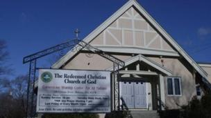 The Redeemed Church of God preaches the gospel in US - BBC News