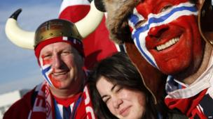 Norwegian visitors Sochi
