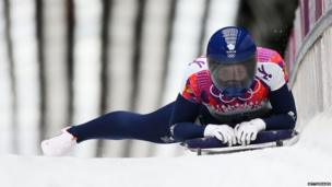 Lizzy Yarnold of Great Britain