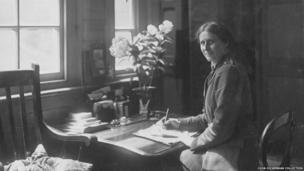 Dr Winifred Buckley who worked as a surgeon at Endell Street Military Hospital during World War One