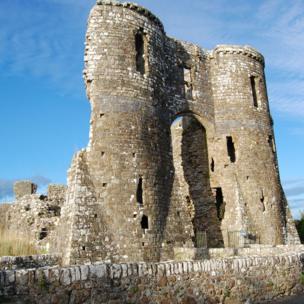Llawhaden Castle, Pembrokeshire