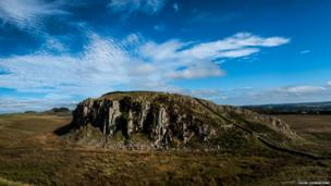 Towards Crag Lough - entry by Colin Livingstone