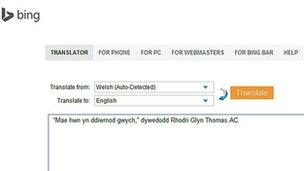 Microsoft translation system to help more use Welsh - BBC News