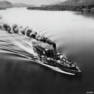 Steamer on Loch Lomond