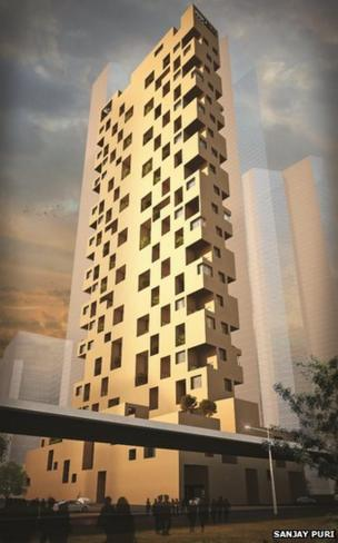 Sky Courts Sanjay Puri concept design