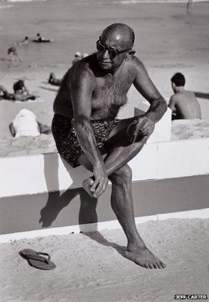 The Sunbather, Jeff Carter, 1966