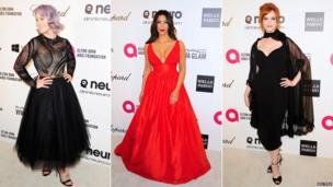 Kelly Osbourne, Kim Kardashian and Christina Hendricks