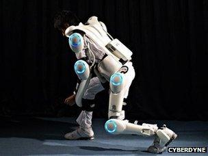 Rise of the human exoskeletons - BBC News