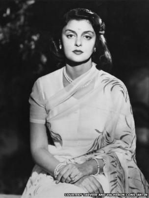 Portrait of Maharani Gayatri Devi, 1945