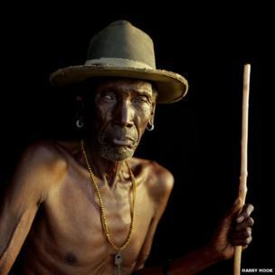 Sampulen, a senior elder of the Samburu people