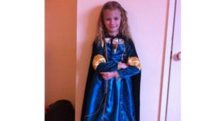 May dressed as Brave