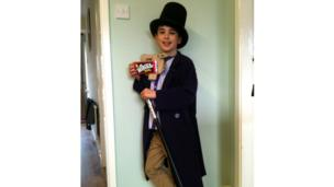 Alfie as Willy Wonka