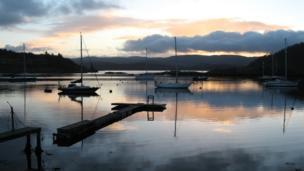Dawn over Tayvallich
