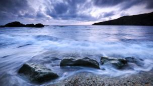 Iwan Williams from Llanrug took this photo at Church Bay Anglesey
