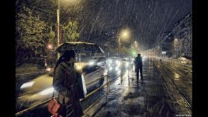 First Snow by Vlad Eftenie, Romania, Winner, Open Low Light, 2014 Sony World Photography Awards