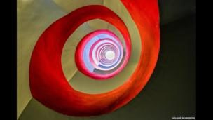 Under the staircase by Holger Schmidtke, Winner, Open Architecture, 2014 Sony World Photography Awards