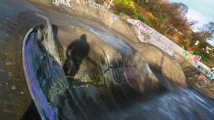 Livingston Skate Park by David Walker, 17, from the HYPE: Helping Young People Engage (Photography Group)