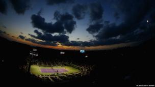 General view of Crandon Park Tennis Center