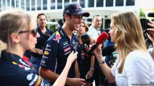 Daniel Ricciardo of Red Bull Racing