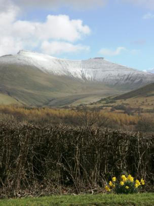 Pen-y-fan and Corn Ddu