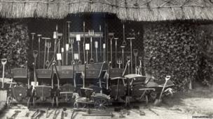 Royal children's wheelbarrows