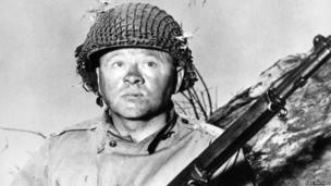 Mickey Rooney in The Bold and the Brave