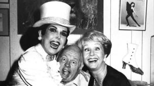 Ann Miller, Mickey Rooney and Debbie Reynolds