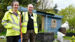 Dwr Cymru's RainScape by Lorna Davis, Amy Shoesmith & Gareth Gough