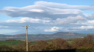 Cloud in the Vale of Clwyd