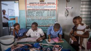 Health clinic in Kenya