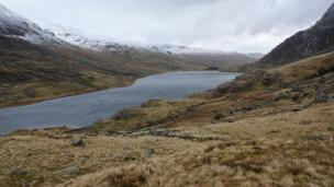 A corrie lake in Snowdonia