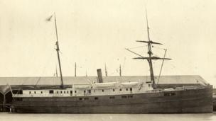 City of Chester steamship.