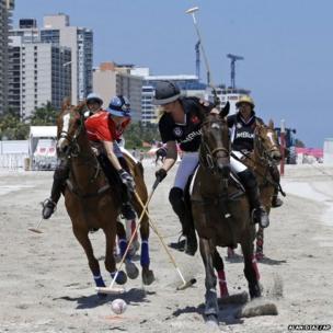 Women's La Martina South Beach Polo World Cup VI in Miami Beach, Florida
